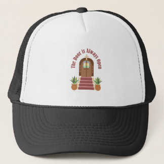 Always Open Trucker Hat