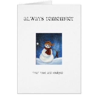Always Remember... Greeting Card