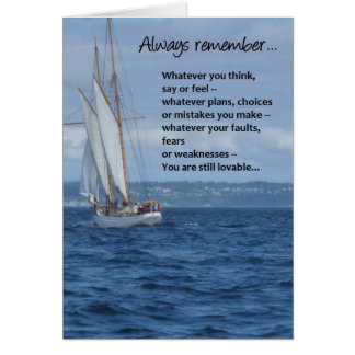 Always remember... greeting card