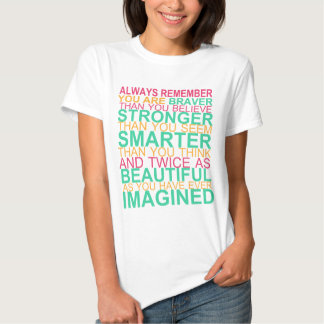 ALWAYS Remember...INSPIRATIONAL Tee