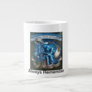 Always Remember Jumbo Mug