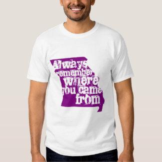 Always remember t shirt