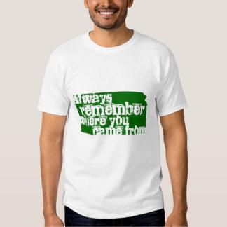 Always remember tee shirt