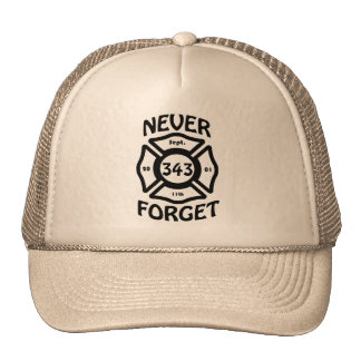 Always remember the 11th of September and the 343 Cap