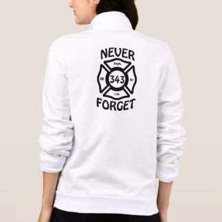 Always remember the 11th of September and the 343 Jacket