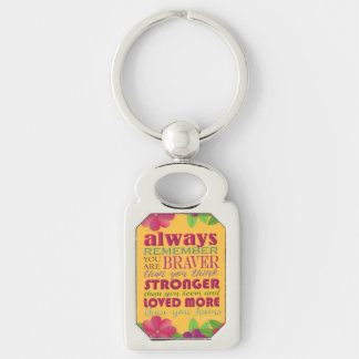 Always Remember You Are - Keychain