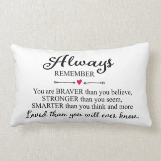 Always Remember You Are Loved Throw Cushions