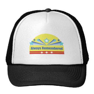 Always Remembered Trucker Hats
