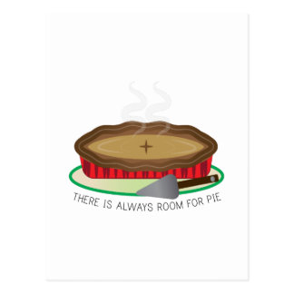 Always Room For Pie Post Cards