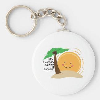 Always Sunny Key Chain
