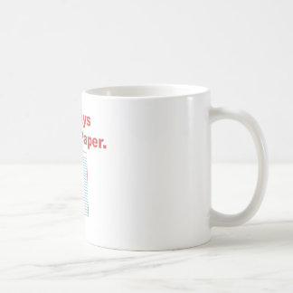 Always Throw Paper Mug
