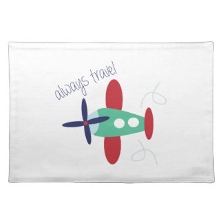 Always Travel Cloth Place Mat