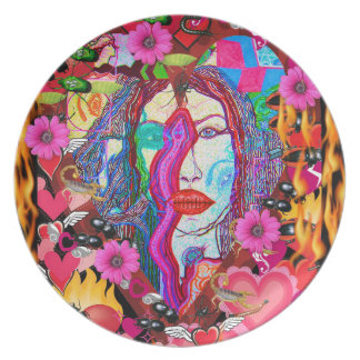 Alyce on Wonderland Plate