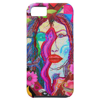 Alyce on Wonderland Tough iPhone 5 Case