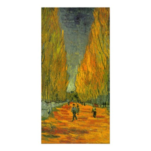 Alyscamps by Vincent van Gogh Photo Greeting Card