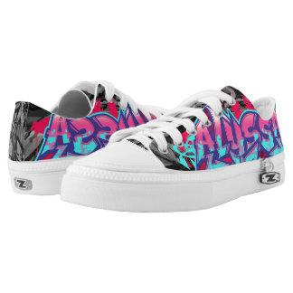 Alyssa in Graffiti Printed Shoes