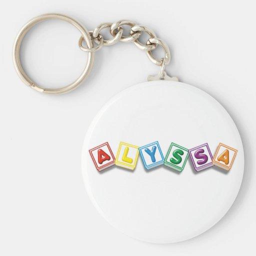 Alyssa Key Chain