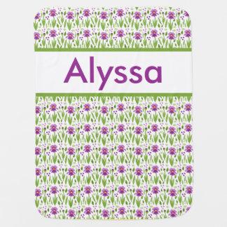 Alyssa's Personalized Iris Blanket