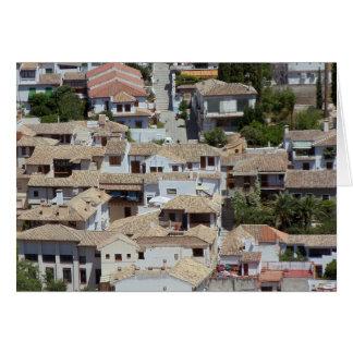Alzabin, Granada, Spain Card