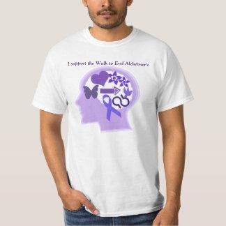 Alzheimer's Awareness A Life Well Lived T-Shirt S