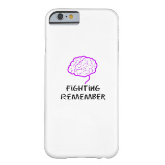 Alzheimers Awareness  Purple Fighting Remember Barely There iPhone 6 Case