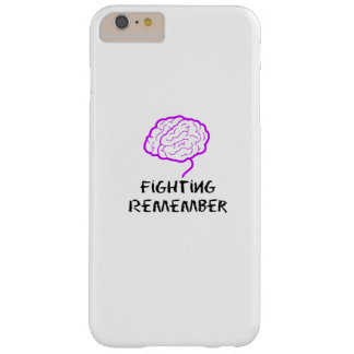 Alzheimers Awareness  Purple Fighting Remember Barely There iPhone 6 Plus Case