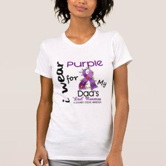 Alzheimers Disease I Wear Purple For My Dad 43 T-Shirt