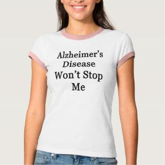 Alzheimer's Disease Won't Stop Me T-Shirt