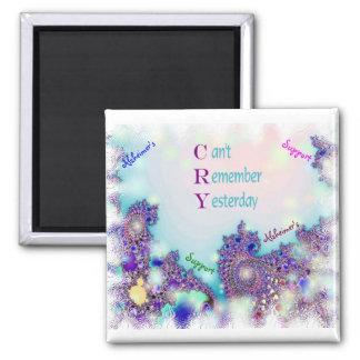 Alzheimer's Support  Magnet