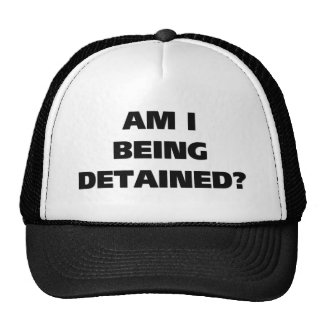 Am I Being Detained Cap