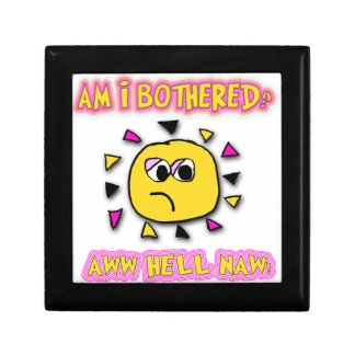 Am i bothered aww hell naw small square gift box