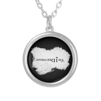 Am I Dreaming? Plated Necklace Black