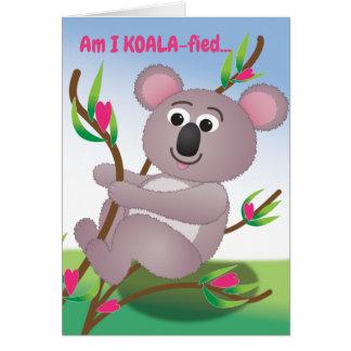 Am I KOALA-fied? Card