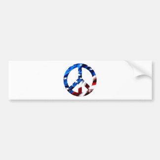 am peace bumper sticker