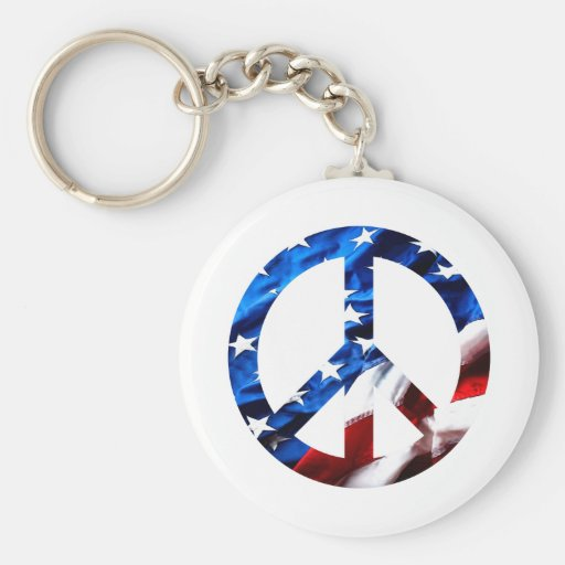am peace key chains