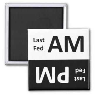 AM/PM Pet Feeding Reminder Magnet