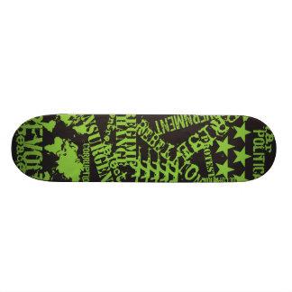 "AM Radio ""Green Politics"" Skateboards"