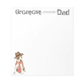 Am Staff Dad Notepad