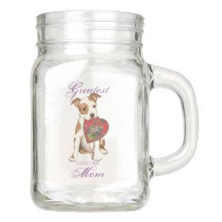 Am Staff Heart Mom Mason Jar