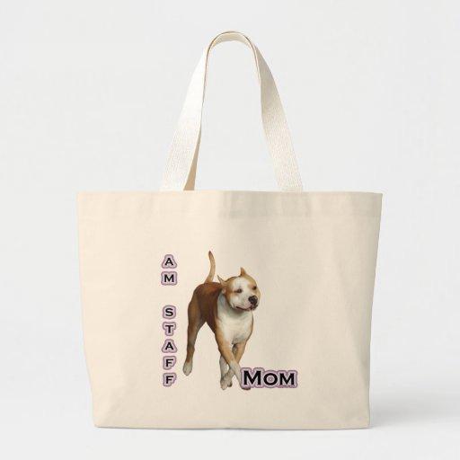 Am Staff Mom 4 Tote Bag