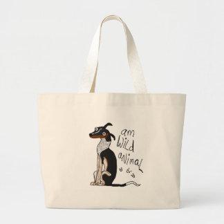 Am Wild Animal Jumbo Tote Bag