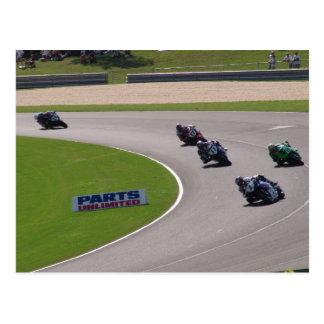 AMA Superbike Postcard