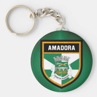 Amadora  Flag Key Ring