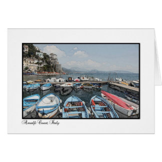 Amalfi Coast, Italy 4 Card