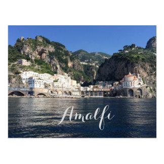 Amalfi Coast Italy Postcard
