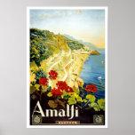 Amalfi Coast, Italy Poster