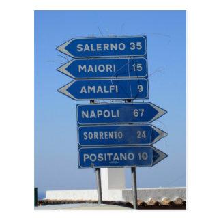 Amalfi Coast Postcard