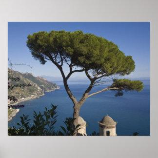 Amalfi coast, Ravello, Campania, Italy Poster