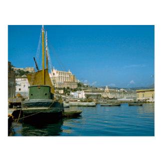 Amalfi coast Salerno waterfront Post Card