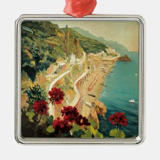 Amalfi Italia Metal Ornament